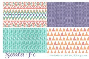 Santa Fe web tiles & high res digita