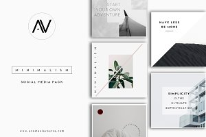 MINIMALISM | Social Media Pack