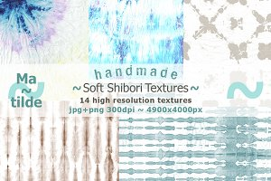 Soft shibori textures