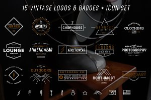 Logos & Icons Bundle - 25% Off