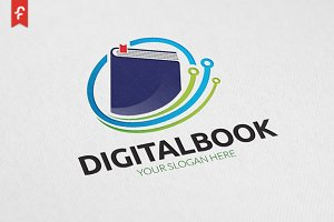 Digital Book Logo