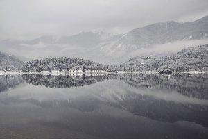 Winter Fairytale at Bohinj Lake