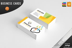 3D Powers Idea Business Cards Design