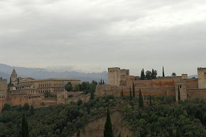 Alhambra palaces, Granada, Spain