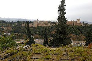 Palaces of the Alhambra in Granada