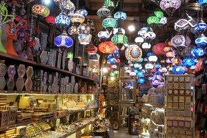 Arab handicraft shops