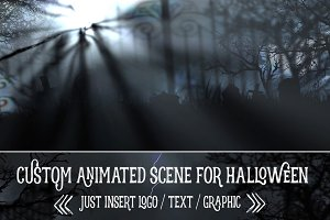 Horror Animation for Halloween (AE)