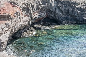 Playa Blanca landscape