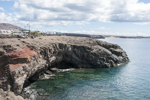 cliffs of Lanzarote