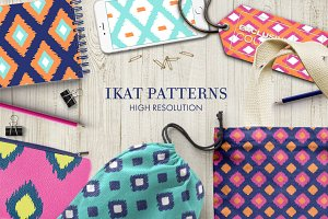 Ikat Patterns - Vol2