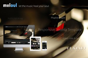 Meloul - Music Joomla Template