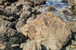 Rocky Northern California Beach