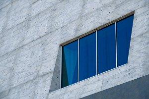 Big blue window