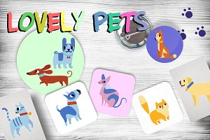 Lovely pets for KIDS