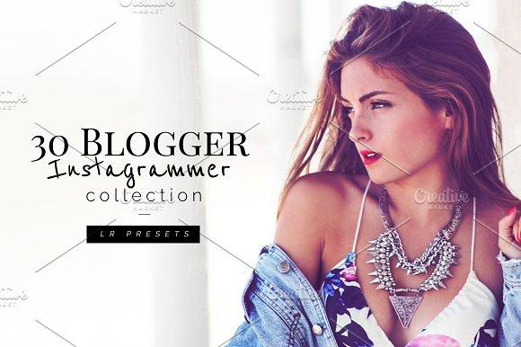 30 Instagrammer Blogger Lr -Graphicriver中文最全的素材分享平台