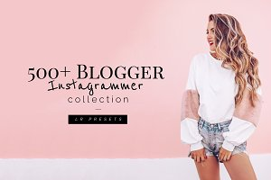 500+ Blogger Instagrammer LR Presets