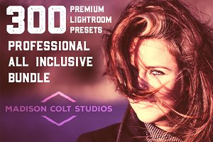 300 Professional Lightroom Presets