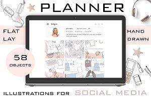 Planner for Social media