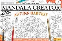 Autumn Harvest Mandala Creator by  in Plugins