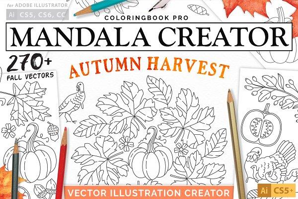 Plug-ins - Autumn Harvest Mandala Creator