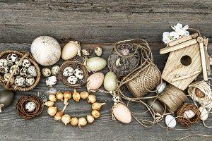 Vintage Easter Decoration