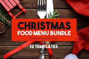 Food Menu Bundle 75% OFF