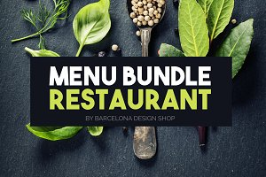 Menu Restaurant Bundle