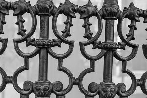 Iron Fence Detail