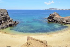 the papagayo beach