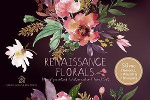 25% off Renaissance Florals