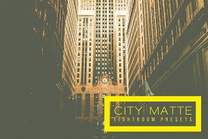 City Matte Lightroom Presets