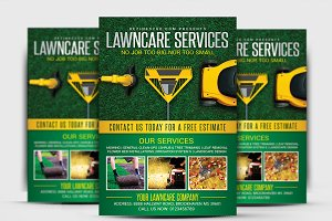 Lawn & Garden Care Flyer Template