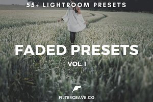 55+ Faded Lightroom Presets Bundle
