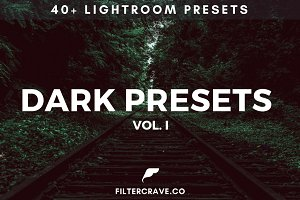 40+ Dark Lightroom Presets Vol. I
