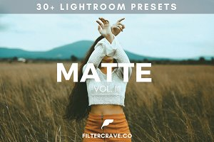 30+ Matte Lightroom Presets Vol. II