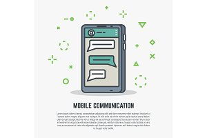 Mobile phone communication