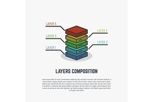 Layers simple line
