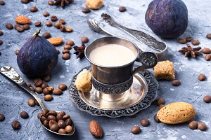 turkish coffee bean