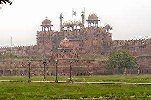 Red Fort in Delhi.