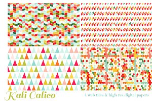 Kali Calico 4 web tiles & digi paper