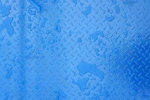 blue steel metal texture background