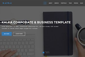 kalka - Responsive Business Template