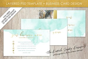 Photoshop Business Card Template #1