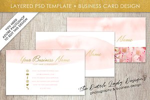 Photoshop Business Card Template #2