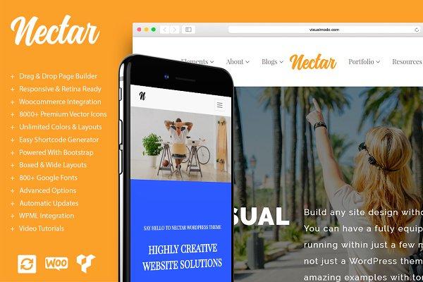 Nectar Multi-Purpose WordPress Them…