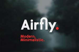 Airfly [sans serif typeface]