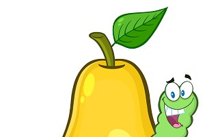 Yellow Pear Fruit Character