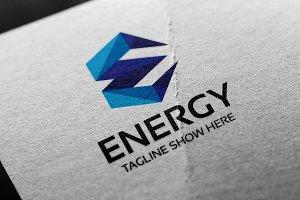 Letter E - Energy Logo