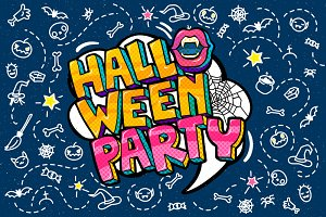 Halloween Party Message