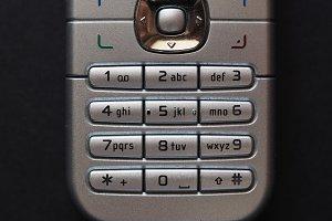 vintage telephone keypad